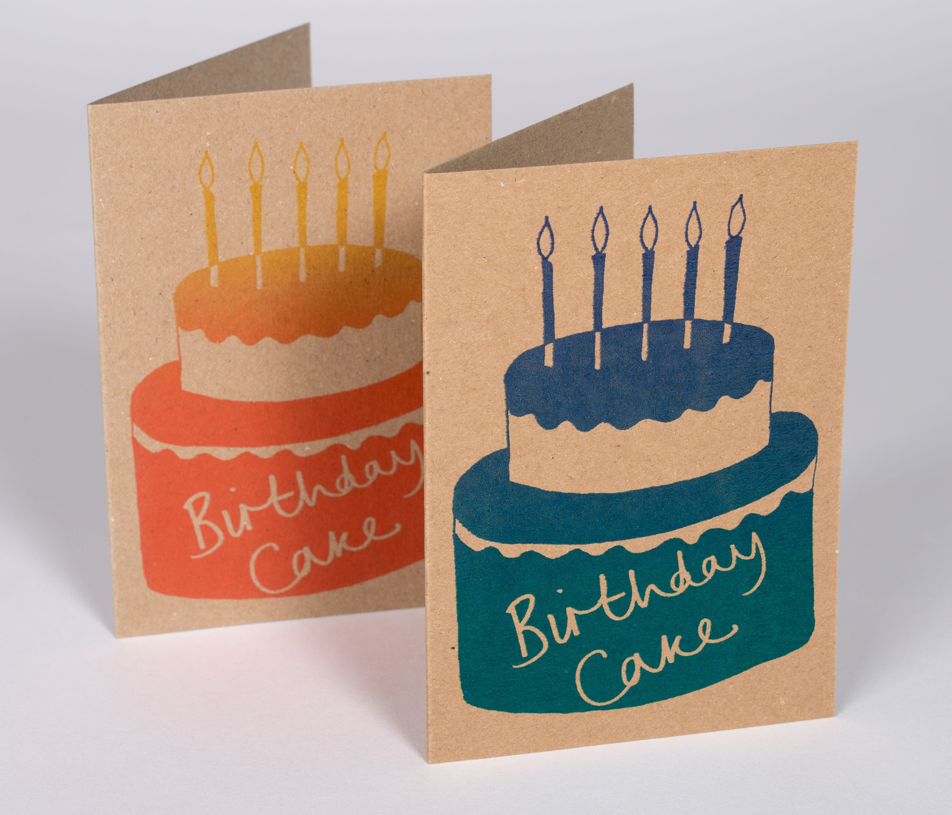 Birthday Cake Greeting Card 260